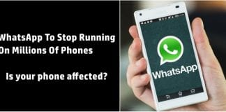 WhatsApp to stop working on millions of phones, find out if your phone is affected