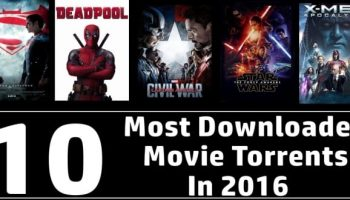 10 most downloaded movie torrents in 2016