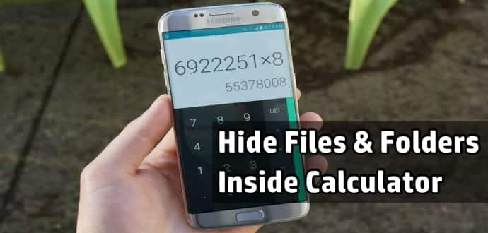 Secret folder app android