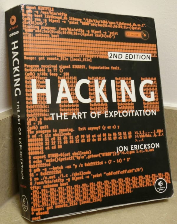 best hacking books - Hacking: The Art of Exploitation, 2nd Edition