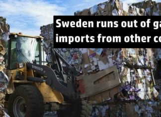 Sweden runs out of garbage, imports waste from other countries