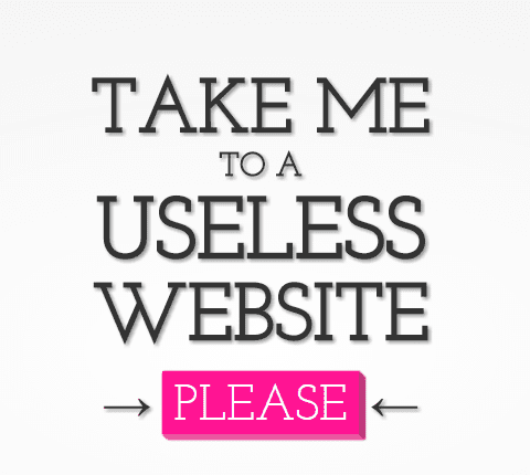 The-Useless-Web