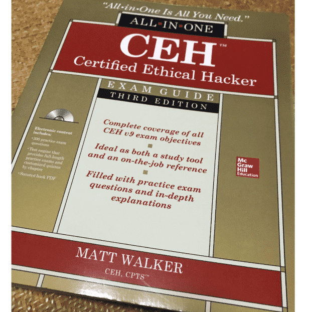 best hacking books- CEH Certified Ethical Hacker All-in-One Exam Guide