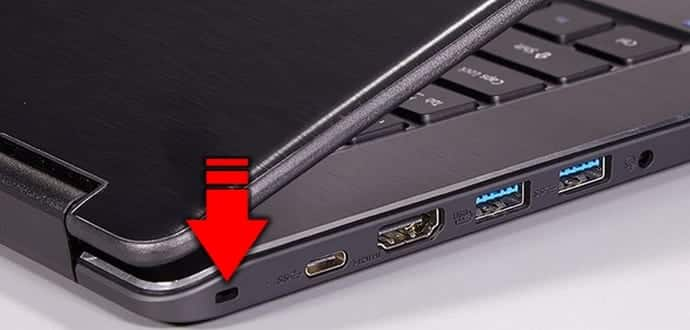 Have you noticed a weird slot on the side of your laptop? Why is it there?