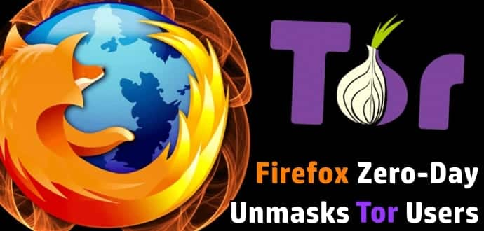 Hackers can unmask Tor users identity using a Firefox zero-day flaw