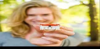 SKEYE Nano 2 Drone : The worlds smallest flying camera drone which fits on your fingertips, Priced $99 (Rs.6600.00) for Techworm readers