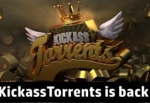KickassTorrents is back with a new domain and the old familiar UI
