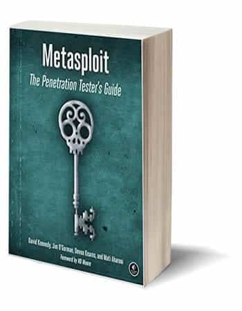 best hacking books- Metasploit: The Penetration Tester's Guide