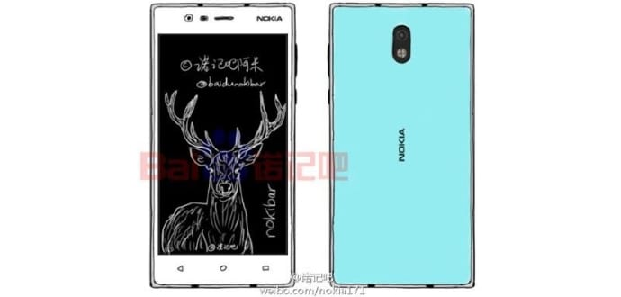 Here is a look at what Nokia D1 and E1 Android smartphones will look like