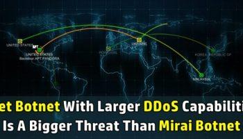 Leet Botnet with 650 Gbps DDoS capability is bigger than Mirai Botnet