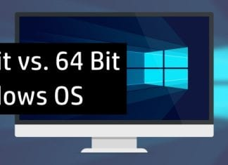 What is the difference between 32-Bit Vs 64-Bit Windows OS and which one should you choose?