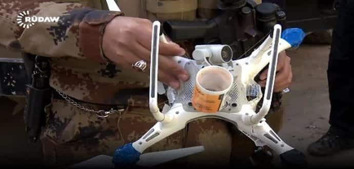 ISIS using small commercial drones to drop bombs in Iraq