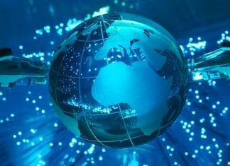 Who provides the Internet service to Internet Service Providers (ISPs)?