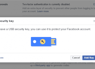 """How To Use Facebook's New """"Security Key"""" Feature To Protect You From Hackers"""
