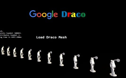 Google releases 'Draco' - a 3D graphic open source compression library