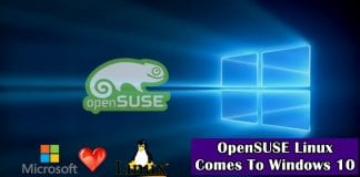 Forget Ubuntu, now OpenSuse comes to Windows 10