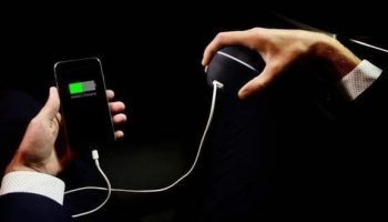 Teenager invents phone charger which produces energy from the human body