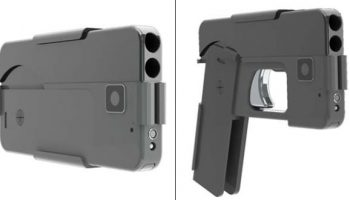 Foldable gun which looks like iPhone puts Europe police on alert