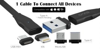 This Cable Will Connect All Your Android, iOS, Smartphones, Computer, Camera, & Other Devices