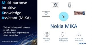 Nokia launches new digital assistant, MIKA for engineers and telecom operators