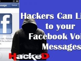 Hackers Can Listen to your Facebook Voice Messages With This Simple Hack