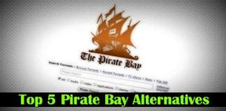 Top 5 The Pirate Bay Alternatives