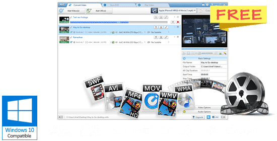 Top 5 Best Free Video Converters