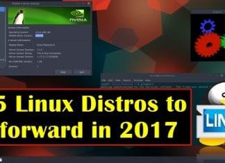 Top 5 Linux Distros to look forward in 2017