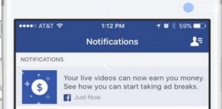 How to get paid from Facebook to go live