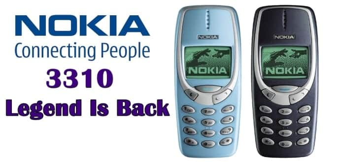 The legendary unbreakable and everlasting Nokia 3310 set to make a comeback