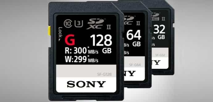 Sony Makes The World's Fastest SD Card With Blazing 299MB/s Write Speed
