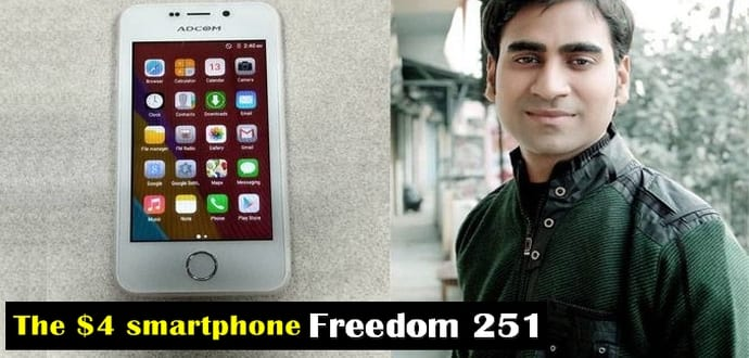 'Freedom 251' aka $4 smartphone maker Ringing Bells' MD arrested over fraud allegations