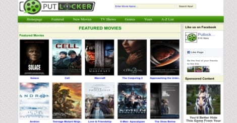 Popular movie streaming website Putlocker.is down, check out top ...