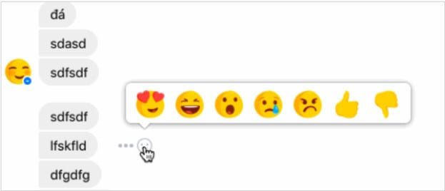 Facebook is testing Reactions and Dislike button on Messenger
