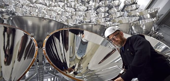 Scientists in Germany fire up the world's largest artificial sun