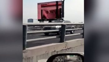 Firefighter falls to his death while trying to disable Xvideos clip on hacked billboard