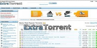 Popular torrent website, ExtraTorrent.cc loses its domain name, moves to Extra.to