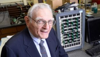 Creator of Lithium-ion batteries creates powerful new battery with 3X energy
