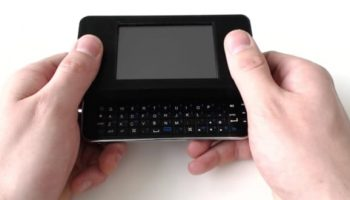 Create your own phone sized Raspberry Pi-powered Linux computer with a keyboard and display