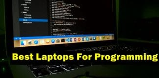 The best 5 laptops for programming