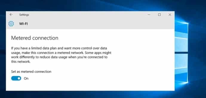 Windows 10 Won't Stop Updating Your System Even If You're On A Metered Connection