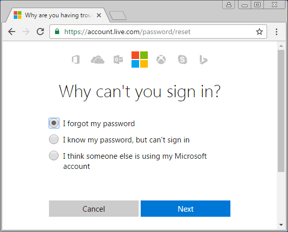 locked out of computer forgot password windows 10