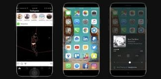 This iPhone 8 mockup visualizes rumored function area and bezel-less design