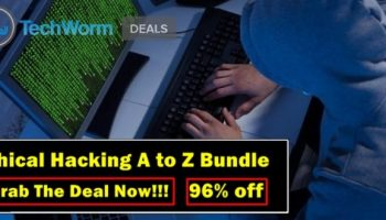 Get 96% off on an eight-course Ethical Hacking bundle; Now only for $39!!!