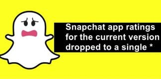 Snapchat Faces Indian Ire, App Ratings Drops To A Single Star On The App Store