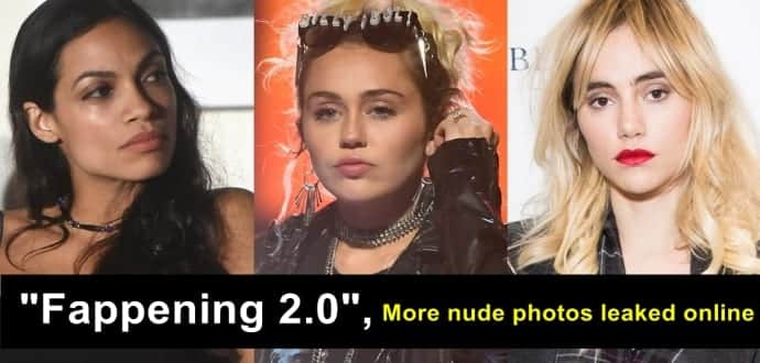 Fappening 2.0 continued: Miley Cyrus, Rosario Dawson, Suki Waterhouse nude photos leaked online