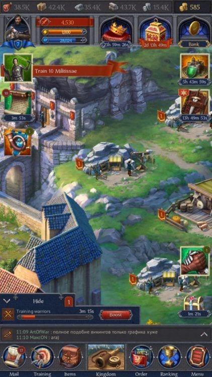 Plarium's new offering Throne: Kingdom at War