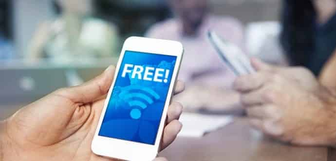 Get free Internet :Connect to password protected Wi-Fi hotspots for