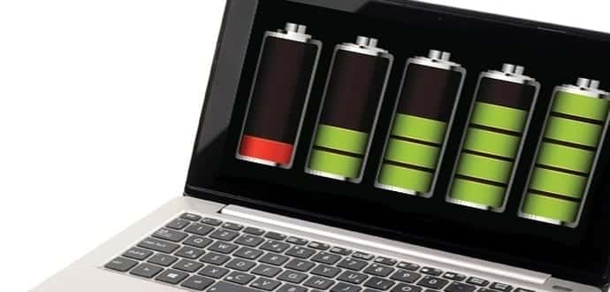 Laptop batteries often don't last as long as claimed by the manufacturers
