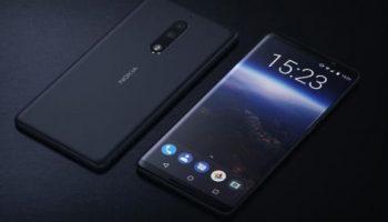 Nokia 8 And Nokia 9 Android Smartphone Design Show Dual Cameras, Rear Fingerprint Sensor, Iris Scanner And Bezel-less Design